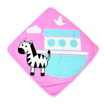Handtuch mit Kapuze<br> Zebra Nina