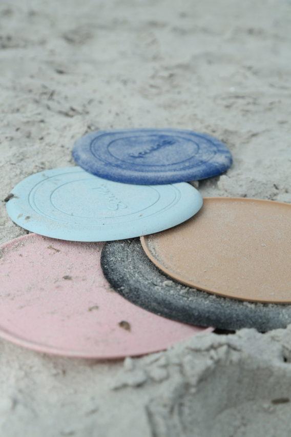 Scrunch Frisbee <br> hellblau